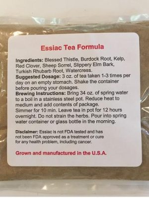 essiac tea for dogs