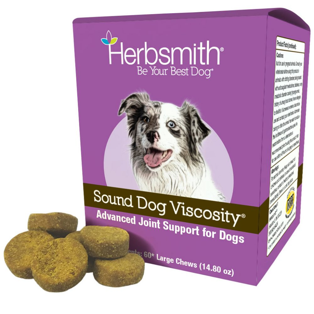 Chewable Dog Treats Providing Pain Relief