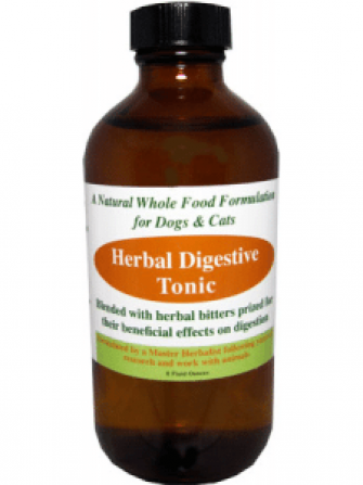 herbal digestive tonic for dogs