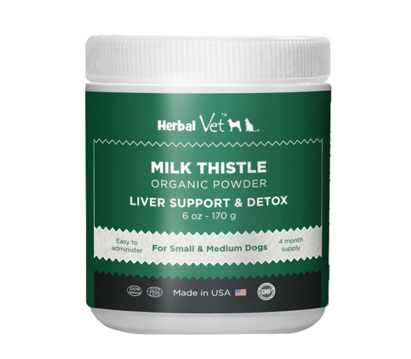 organic milk thistle for dogs and cats