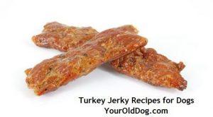 turkey jerky recipe for dogs