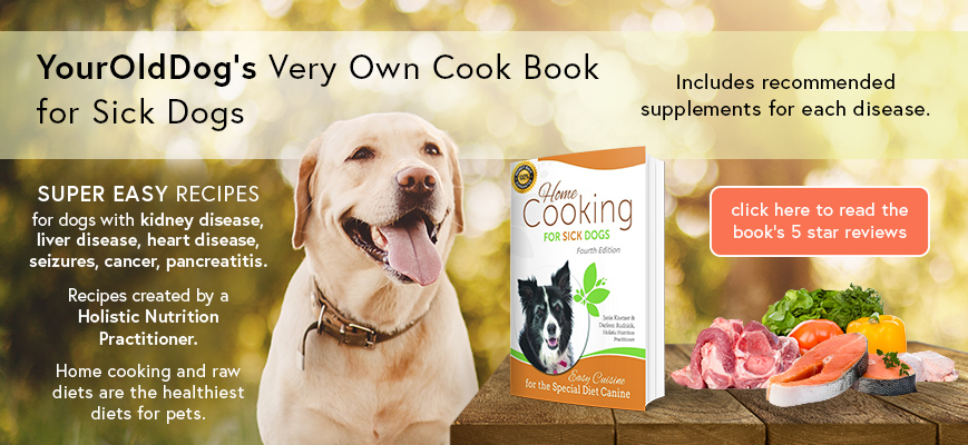 sick dogs cookbook for easy recipes
